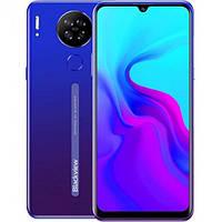 "Смартфон Blackview A80S 4/64Gb Blue, 2sim, экран 6.49"" IPS, 8 ядер, 13+2+0,3+0,3/5Мп, 4200mAh, 4G (LTE)"