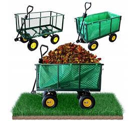 Садовий прицеп тележка 450кг. тачка садовый инвентарь до трактора ATV