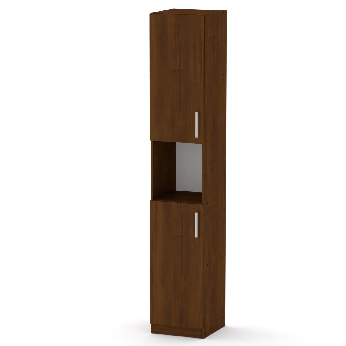 Шкаф книжный КШ-10 орех экко Компанит (35х37х195 см)
