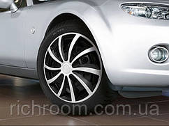 Автомобільні ковпаки на диски R15 Ultimate Speed 38 см, 4 шт, покришки, ковпаки на колеса