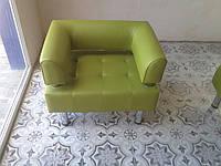 Офисное кресло для офиса Стронг (MebliSTRONG) - оливковый матовый цвет