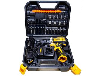 Акумуляторний шуруповерт DeWALT DCD680 з набором інструментів