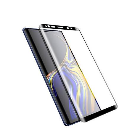 Защитное стекло для Samsung Galaxy Note 9 изогнутое full screen Black, фото 2