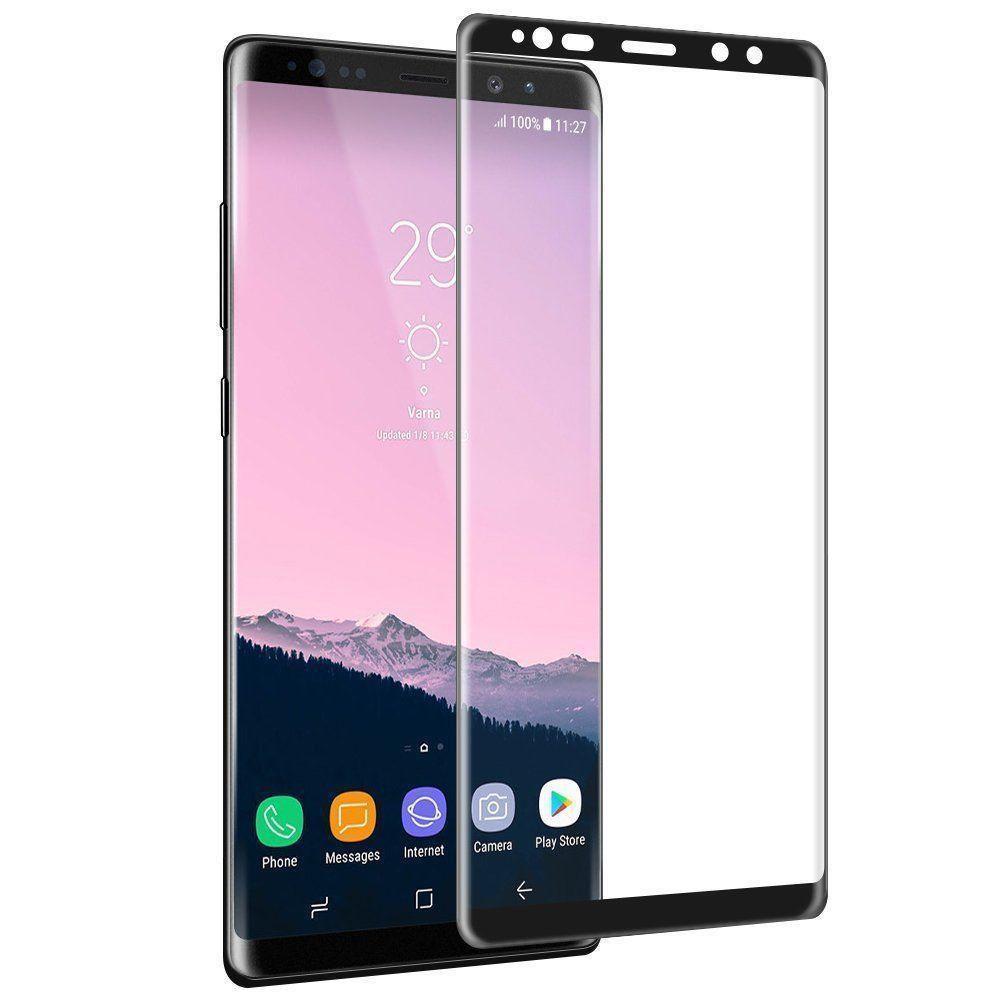 Защитное стекло для Samsung Galaxy Note 9 изогнутое full screen Black