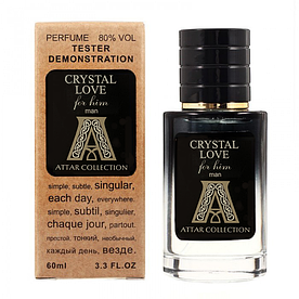 Attar Collection Crystal Love For Him TESTER LUX, мужской, 60 мл