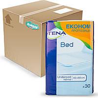 Гигиенические пеленки Tena тена Econom 60*60 бокс (120 шт)