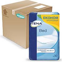 Гигиенические пеленки Tena тена Econom 60*90 бокс (120 шт)