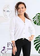 Повітряна блуза з довгими рукавами 002В/01, фото 1