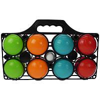 Набір 8 пластикових куль для гри в Петанк Бочче  French Balls