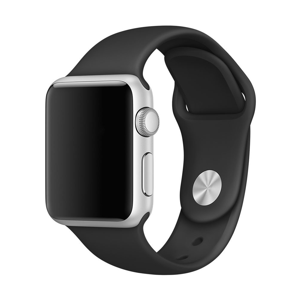 Ремешок для Apple Watch 38 mm (40) (Черный)