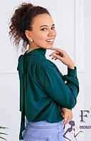 Блуза с длинными рукавами и бантом на спине 010В/08, фото 1