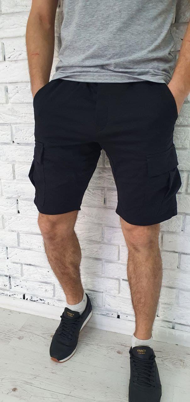 Шорти чоловічі з кишенями тканина трикотаж пр-під Туреччина О Д