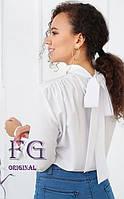 Женская рубашка с бантом на спине  010В/01, фото 1