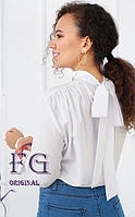 Жіноча сорочка з бантом на спині 010В/01, фото 1
