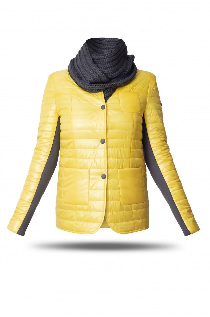 Демісезонна куртка жіноча Freever GF 1911 жовта