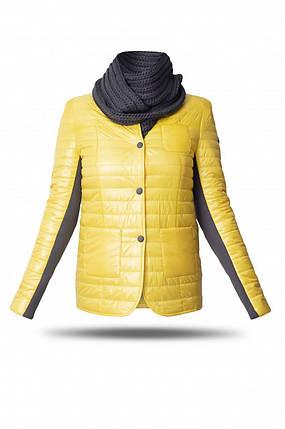Демісезонна куртка жіноча Freever GF 1911 жовта, фото 2