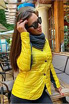 Демісезонна куртка жіноча Freever GF 1911 жовта, фото 3