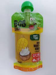 Смузи манго + кокос + лимон, 120 г ТМ BOB SNAIL