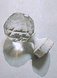 Карниз для штор металевий ЛЮМІЄРА однорядний 25мм 3.0 м Біле золото, фото 3