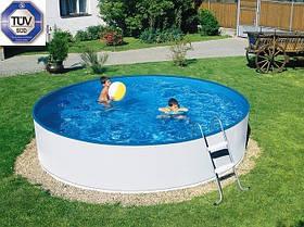 Сборной бассейн Azuro Basic (2,4 х 0,9 м) с картриджным скиммером