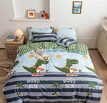 Комплект постельного белья крокодил
