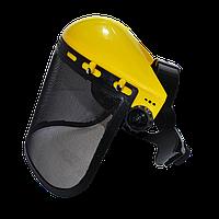 Защитная маска сетка для бензокосы