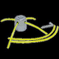 Катушка алюминиевая для бензокосы на 4 выхода