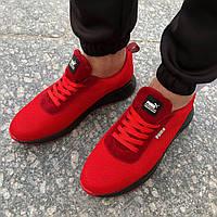 Мужские кроссовки в стиле Puma Красные