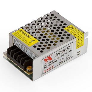 Блокпитания для светодиодной ленты12 В / 2 A (24 Вт)