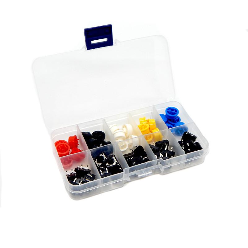 Набір кнопка + ковпачок 25 пар (12*12*7,3)