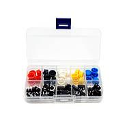 Набір кнопка + ковпачок 25 пар (12*12*7,3), фото 2