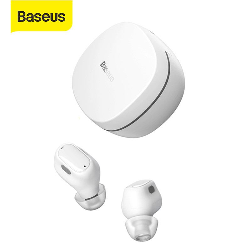 Навушники Baseus WM01 white