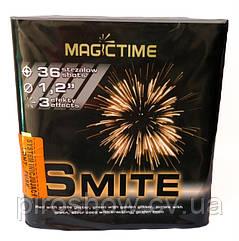 Фейерверк SMITE 36 выстрелов 30 калибр   Салют P7120 Magictime