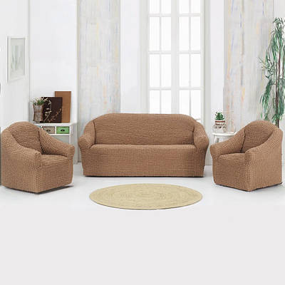 Накидка для диван Бежевая 170Х230 149710
