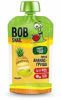 Смузи ананас-груша, 120 г ТМ Bob Snail