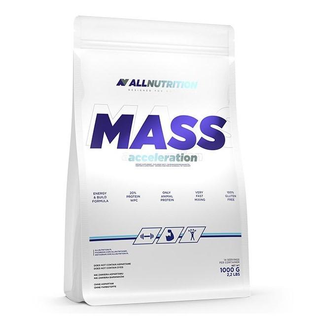 Гейнер AllNutrition All Nutrition Mass Acceleration 1000 г Ваниль Vanilla