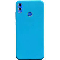 Силиконовый чехол Candy для Huawei Honor 8X Голубой