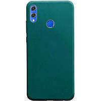 Силиконовый чехол Candy для Huawei Honor 8X Зеленый / Forest green