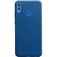 Силиконовый чехол Candy для Huawei Honor 8X Синий