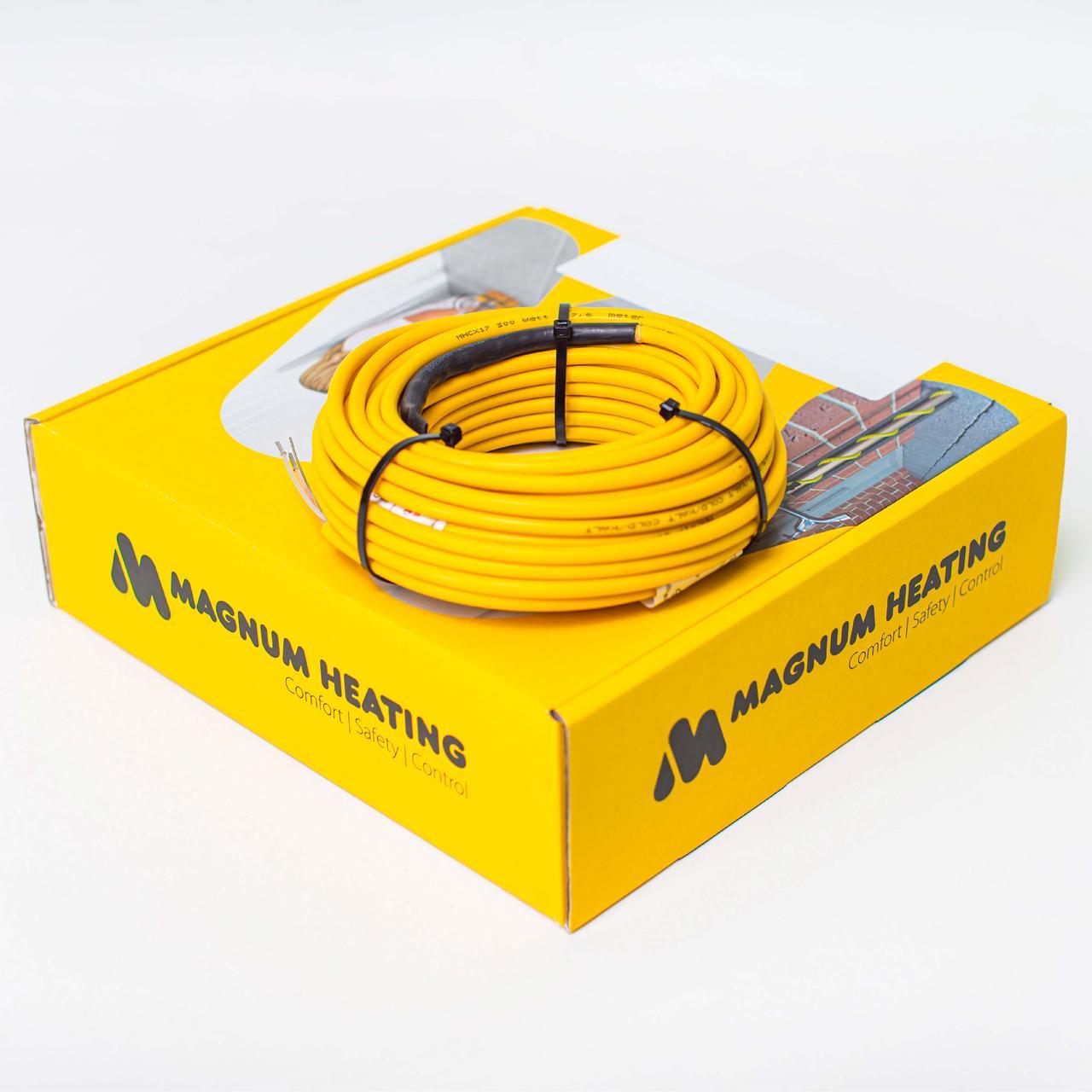 Комплект двожильного нагрівального кабелю MAGNUM Cable C&F-700W