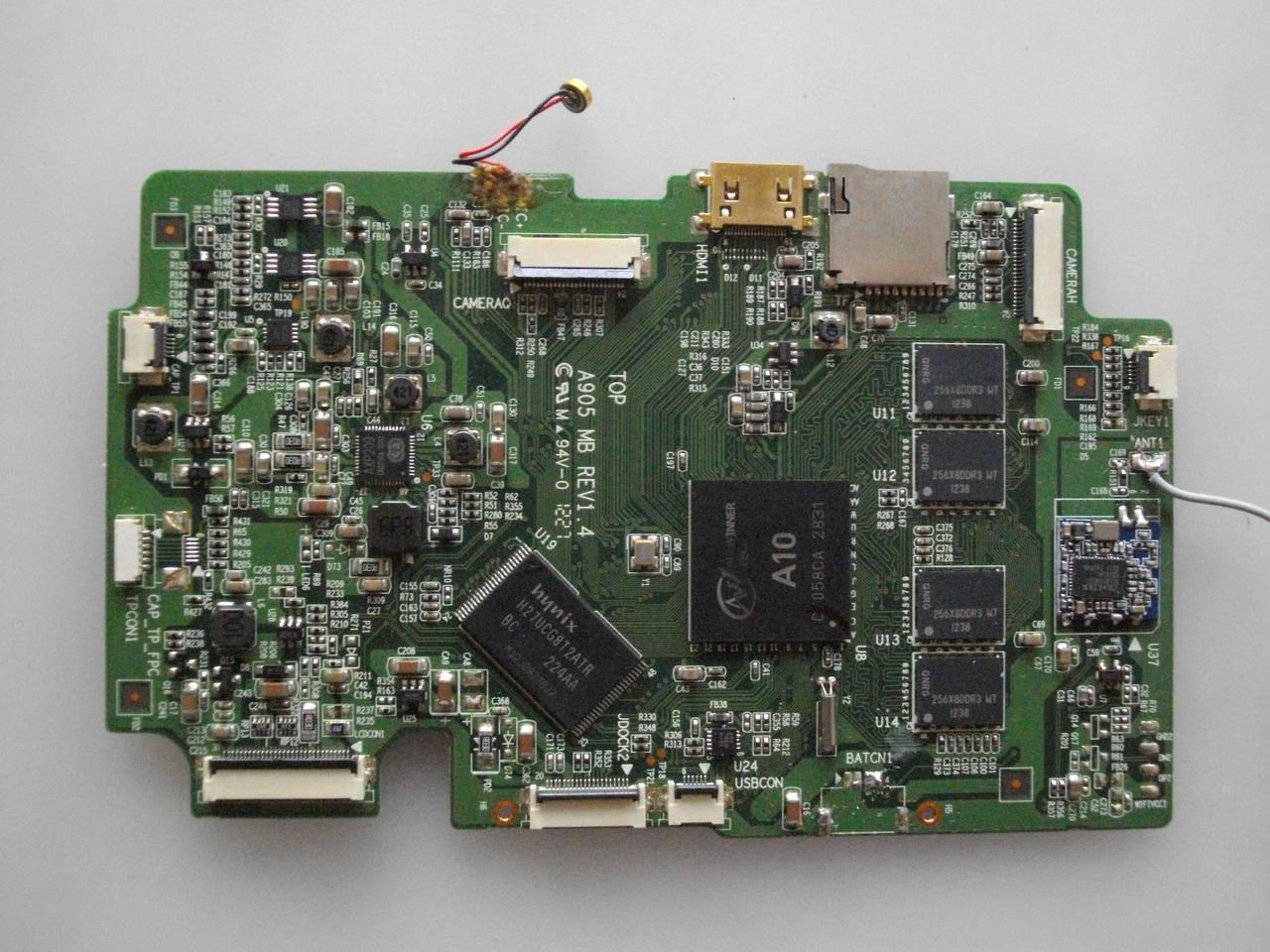 Материнська плата A905MB rev1.4 для планшета Impression ImPad 9701, 9701/16 бо робоча.