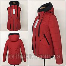 """Демісезонна куртка-жилет трансформер """"Вест"""", червона"""