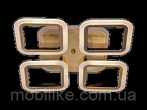 Потолочная led люстра с диммером A3011/4S BR LED 3color dimmer (Бронза) 50W