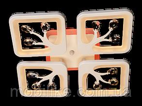Потолочная led люстра с диммером S8157/4WH LED 3color dimme (Белый) 85W