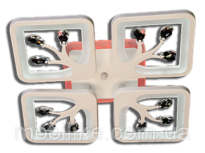 Потолочная led люстра с диммером S8157/4GR LED 3color dimmer (Серый) 85W