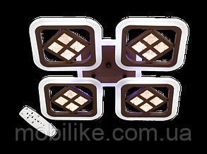 Потолочная led люстра с диммером AS8190/4WH LED 3color dimmer (Белый) 95W