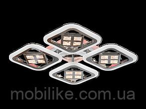 Потолочная led люстра с диммером AS8190/4CF LED 3color dimmer (Коричневый) 95W