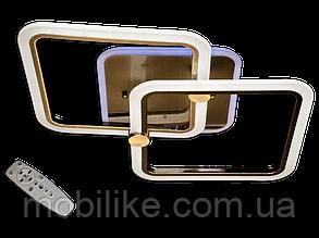 Потолочная led люстра с диммером MX2503/2BR LED 3color dimmer (Бронза) 55W