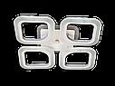 Потолочная led люстра с диммером S8060/4CF LED 3color dimmer (Коричневый) 55W, фото 4