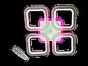 Потолочная led люстра с диммером S8060/4CF LED 3color dimmer (Коричневый) 55W, фото 9